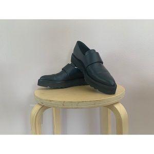 Vince platform loafers